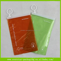 Eco-friendly Plastic Resealable Waterproof Bag Mobile Phone