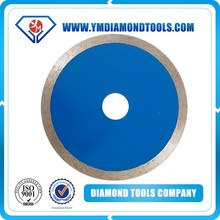 4.3'' Continuous wet cut diamond saw blade for cutting stone,marble