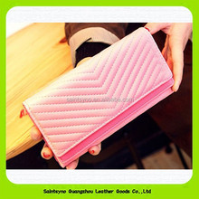15415 New product fashion purses, women leather wallet