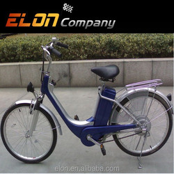 2015 light and convenient style 24inch electric bike for woman with rear storage box(E-TDH005Z)