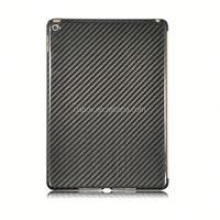 Wholesale Hot Selling Universal Grey Stripe Simple Design Carbon Fiber Case for iPad Air 2
