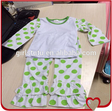 Wholesale Boutique International Kids Wear Brands Clothing China Casual Cotton Fall Winter Polka Dots Children's Garments
