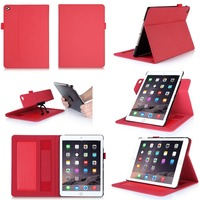 2015 Best Selling Products PU Leather Tablet PC Cases For iPad Air 2
