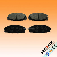 OE QUALITY TOYOT CAR BRAKE PAD D1434 BACKING PLATE WITH HOLE