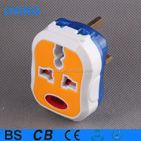 colorful european standard plug socket/electric plug/universal adapter