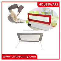 top sold collapsible bed side rails for baby safety