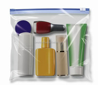 2014 New style hot selling clear zippered portable pvc bag
