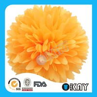10 inch Paper Flowers Paper Pom Poms for Wedding Party Decoration