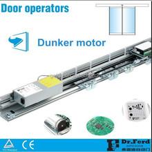600KG Commercial Auto Sensor Sliding Glass Door for Entrance Aluminum Frame Door