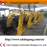 Cheap chinese Mini hydraulic crawler excavator for sale with good quality Changchai ZN390Q engine!