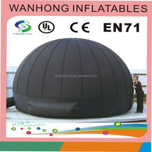 Factory price inflatable planetarium dome, air dome tent, inflatable movie tent
