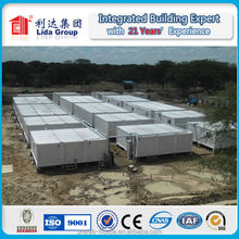 2015 Export to Russia 20 ft modular container house cabin