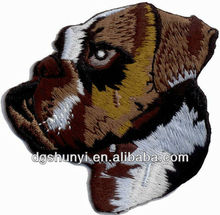 dog patch animal embroidery