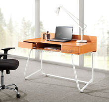 Simple office wood laptop desk made in china