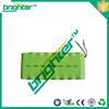 new product 2016 nimh battery pack 12v 3000mah nimh battery