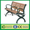 China WPC Wood Slats For Cast Iron Bench In Park