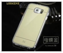 Customized Mirror Cover Shell for Samsung S6