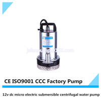 12v dc micro electric submersible centrifugal water pump