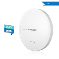 ceiling advertising function 2.4Ghz 12dBi wifi AP wireless 802.11n/b/g AP router