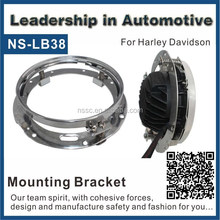 NSSC Motorcycle Headlight Extension Trim Ring Bracket Parts For Harleys Davidsons
