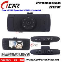 2015 Classic Model 140 Degree Manual Car Camera Recorder HD, Car Camera Recorder with Dual Lens Loop Recording Night Vision