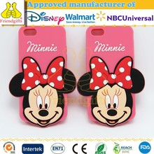 3d Cartoon Silicone Mobile Phone Case Factory Price Lovely Mobile Phone Cover