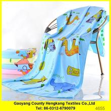 Professional wet microfiber towel face with CE certificate
