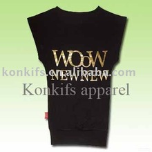 2012 Newest Customized Sleeveless T Shirt