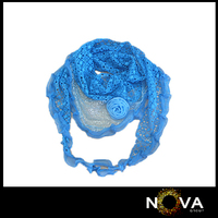 Women Short New 2014 Lace Triangle Scarf Laces Edge