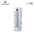 venta caliente portátil seguro led de luz de emergencia con radio fm