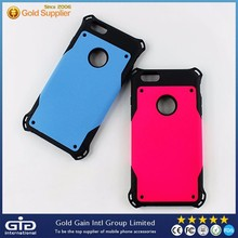 Wholesale 2 in 1 Plane Anti- Broken TPU+PC Cell Phone Case for Apple for iPhone 6 Plus