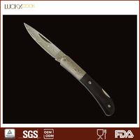Flow sand pattern Damascus Survival knife