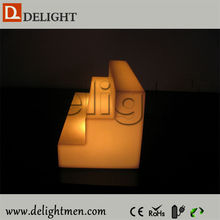 Low price ip65 glowing 16 colors wireless control led plastic bracket