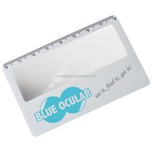 Customized Logo OEM Designed Magnifying Glass Card