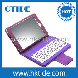 pu leather stand case +8 inch tablet keyboard for samsung galaxy tab