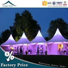 4mx4m Elegant Aluminum frame marquee tent for wedding party for hot sale from factory