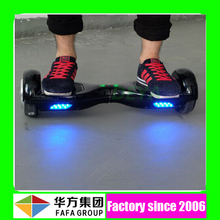 2015 hot sale in USA 12km/h electric board scooter self balancing stand up 2 wheels