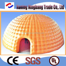 NB-IT2002 NingBang Oxford cloth diameter 5m-15m length inflatable bubble tent for Camping
