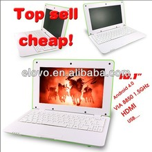 10.1inch wifi android free games laptop female sexy laptop computer