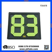 plastic player substitute board, score board FD687-2