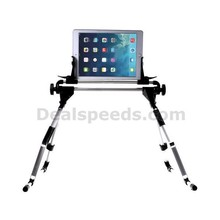 Universal Multifunctional Aluminum Foldable Mount Tablet Stand for ipad; 30cm Height, 1-10.1 Inch Width