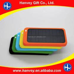Solar powered battery panel for mobile