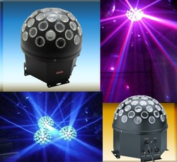Stage LED Effect Light/LED Big New Kind RGBW Four Color Crystal Magic Ball Light