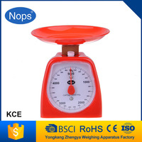 2015 Manufacturers supply kitchen scale manual cooking scale