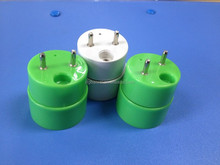 Customized color Hot sale t8 led G13 Rotatable end caps/Rotating lampholder