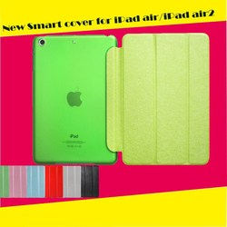 PU+PC material tablet cover for ipad air 2 leather case