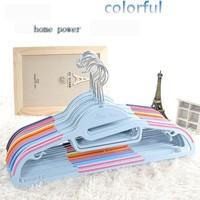 M001 Wholesale Dry wet dual-purpose Korea home power non slip hanger clothes hanger