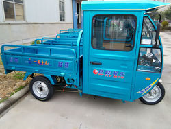 zhufeng made electric van cargo tricycle for deliverying