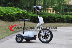 36V 350W 12AH CE approved export cheap china electric zappy scooter 3 wheel for adults for handicapped people