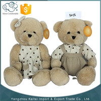 Promotional cheap stuffed animal soft plush fabric for making soft toys